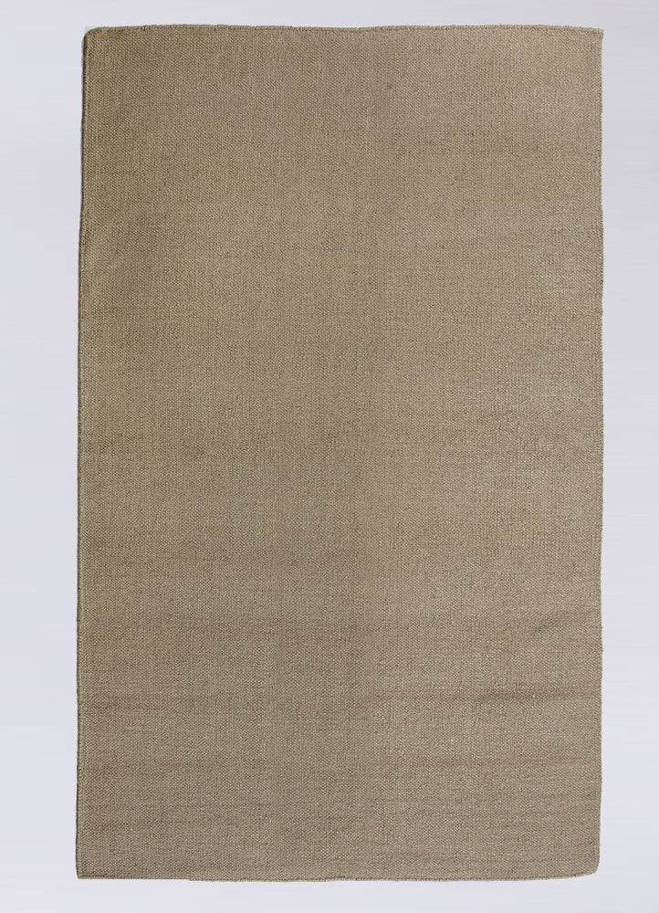 Ash Heavy Wool Solid Rug