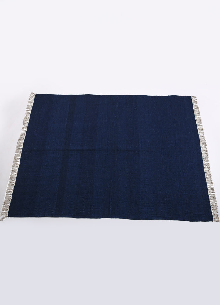 Ultra Marine Wool Solid Rug