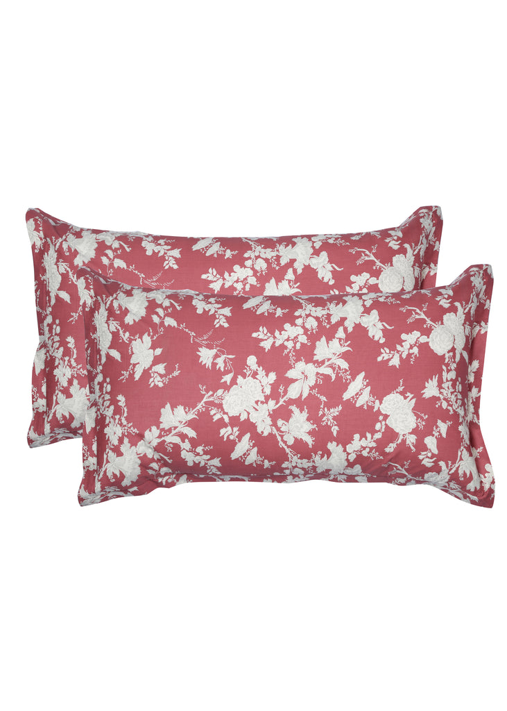 Satya Red Pillow Cover Set of 2 Pcs