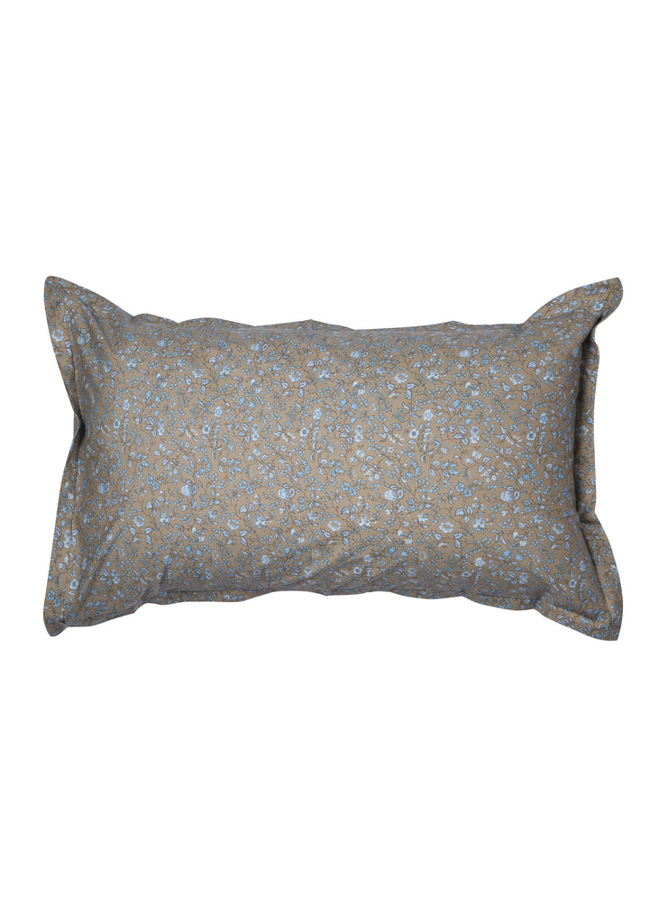 Presia Grey Blue Pillow Cover Set of 2 Pcs