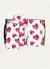 Heart Petals Napkin ( Set of 4 Pcs)