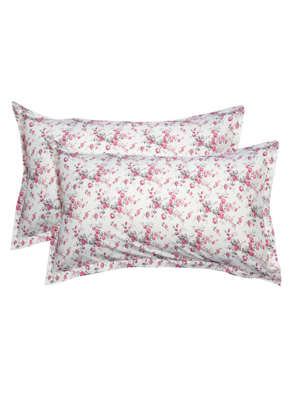 Provance Floral Print Pillow Cover Set of 2 Pcs