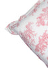 Sevigne Ivory Red Floral Pillow Cover Set of 2 Pcs