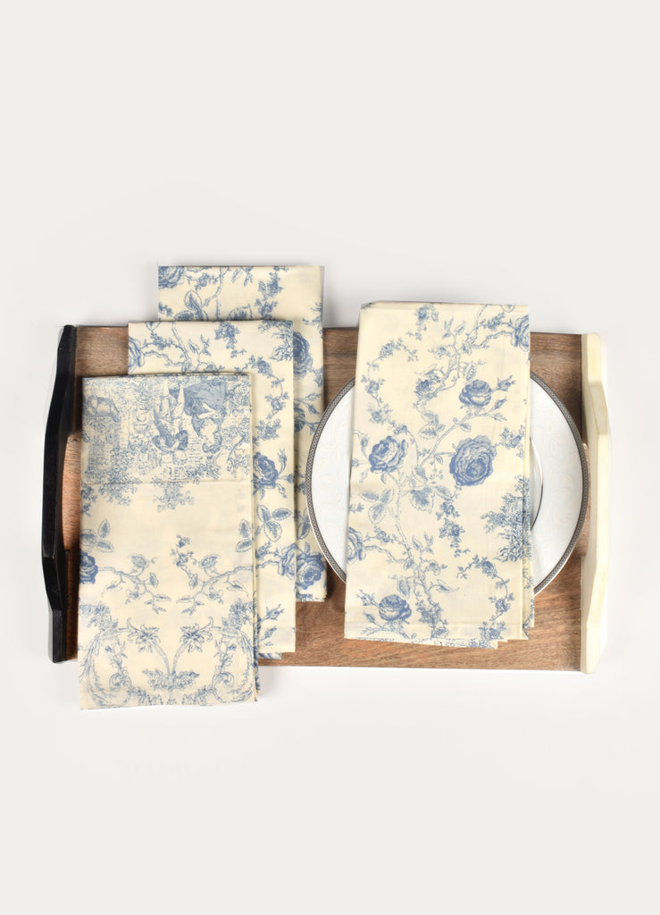 Marion Print Napkin ( Set of 4 Pcs)