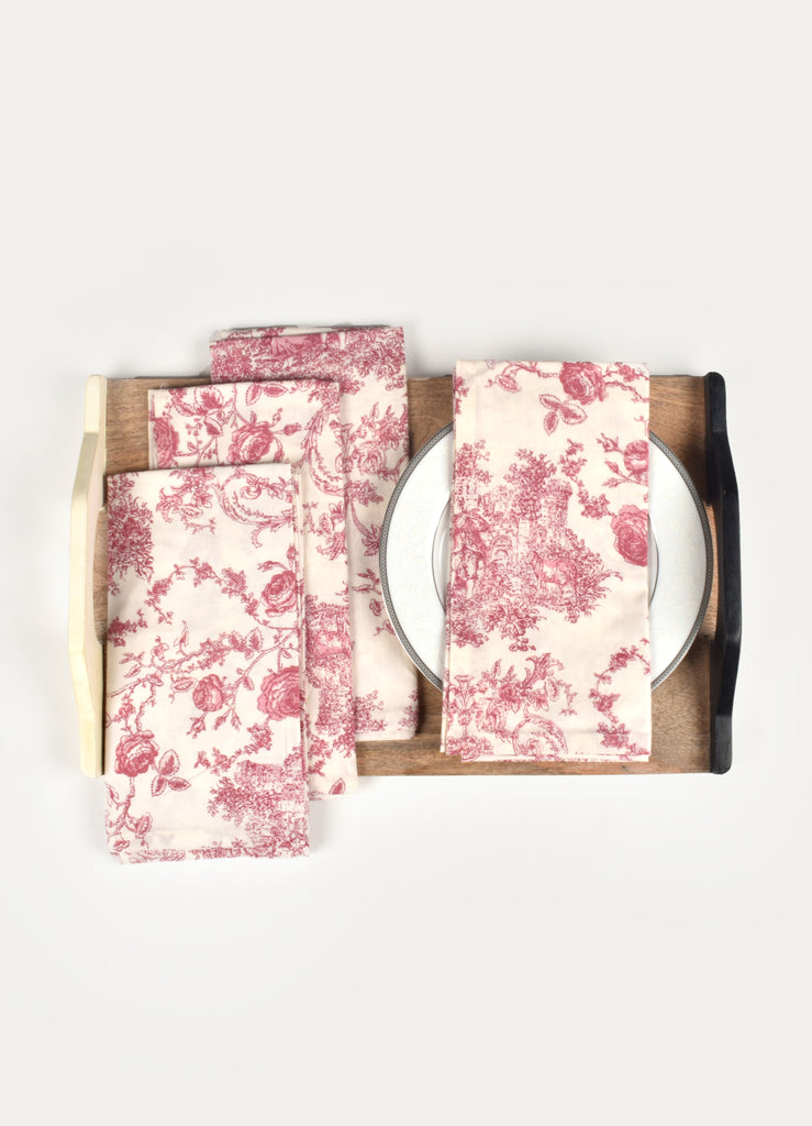 Princess Print Napkin ( Set of 4 Pcs)