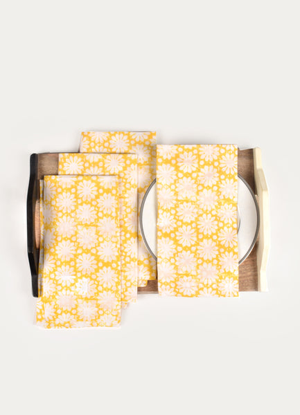 Sevigne Print Napkin ( Set of 4 Pcs)