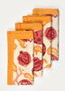 Riune Print Napkin ( Set of 4 Pcs)