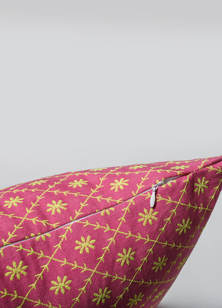 Jaipur Pink Cushion Cover Set of 2 Pcs