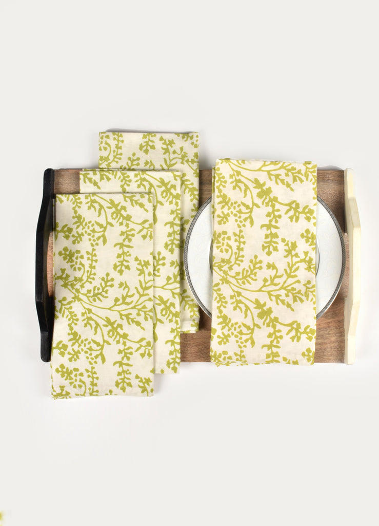 Presia Print Napkin ( Set of 4 Pcs)