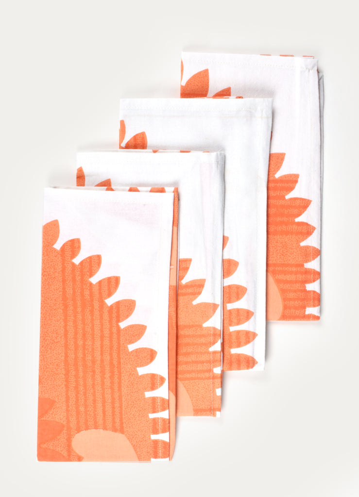 Redsun Print Napkin ( Set of 4 Pcs)