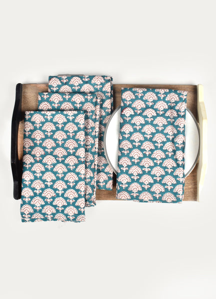 Ominie Print Napkin ( Set of 4 Pcs)
