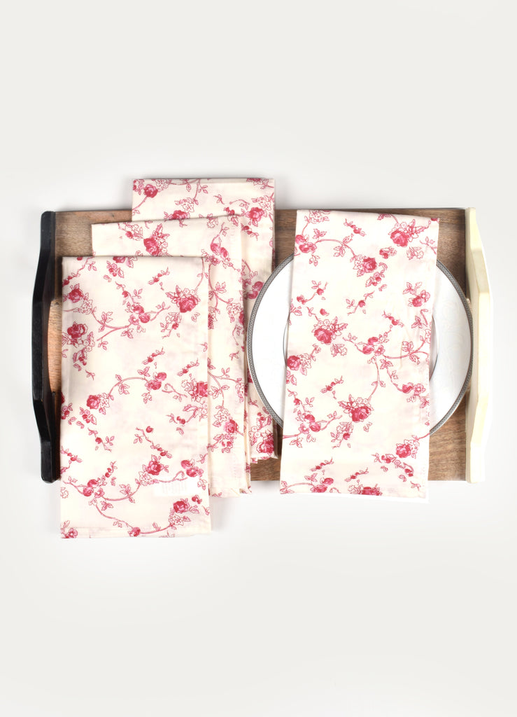 Prinies Print Napkin ( Set of 4 Pcs)