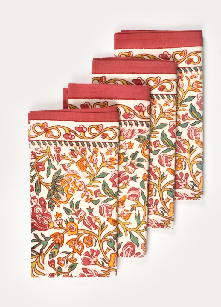 Munik Print Napkin ( Set of 4 Pcs)