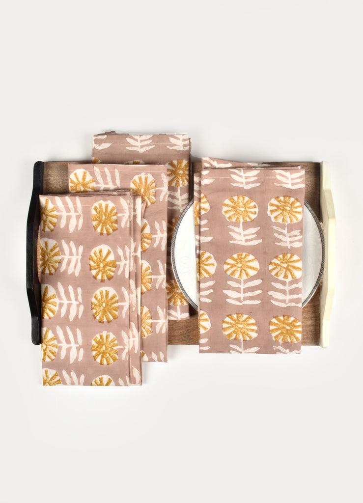 Yuilie Print Napkin ( Set of 4 Pcs)