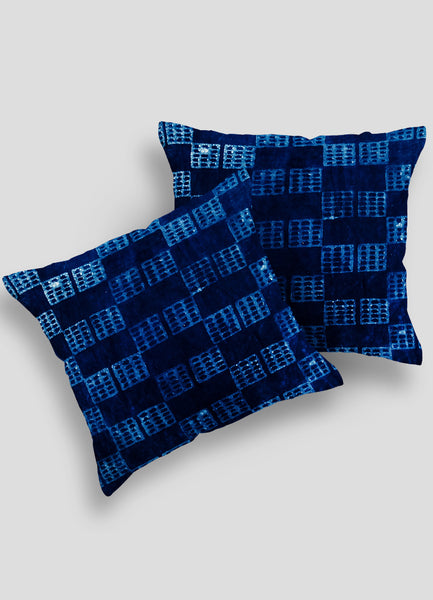 Azira Velvet Cushion Cover set of 2 Pcs