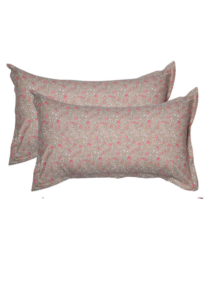 Remek Floral Print Pillow Cover Set of 2 Pcs
