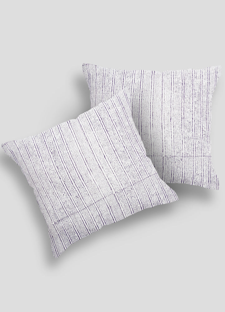 Timbre Linen Cushion Cover Set of 2 Pcs