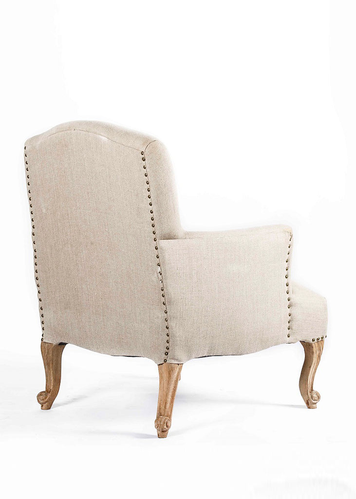 Ruahana Wooden Upholstered  Arm Chair