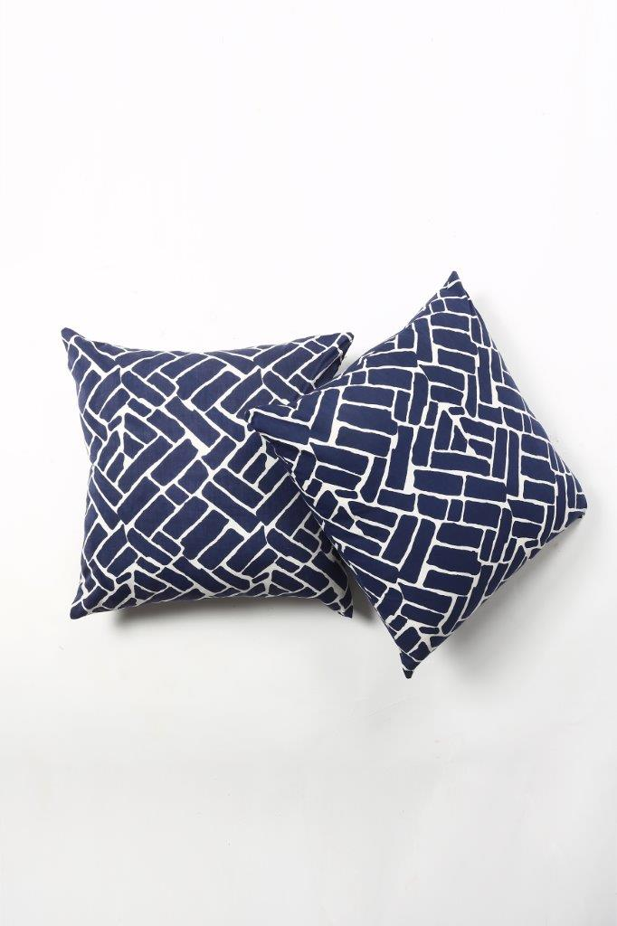 Zigger Cushion Cover- Set of 2 Pcs