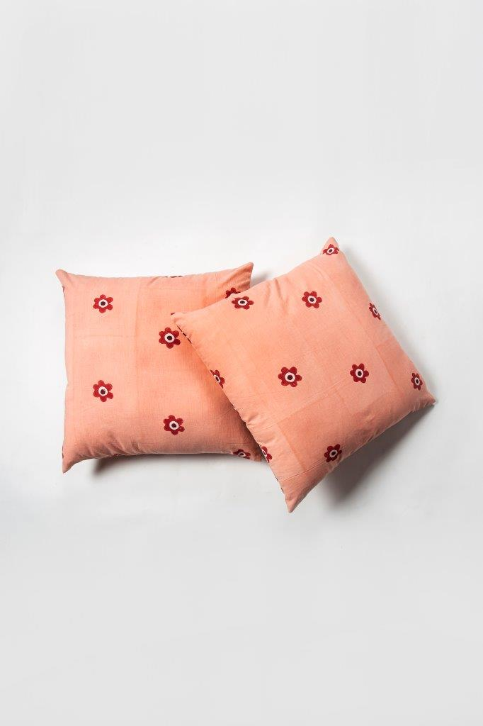 Bareik Cushion Cover - Set of 2 Pcs