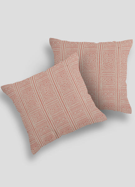 Rust Cushion Cover- Set of 2 Pcs