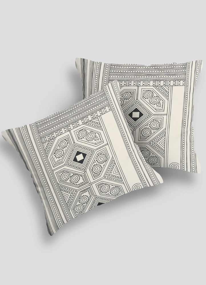 Zuraish Cushion Cover- Set of 2 Pcs