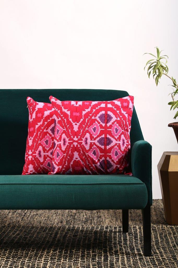 Parie Cushion Cover - Set of 2 Pcs