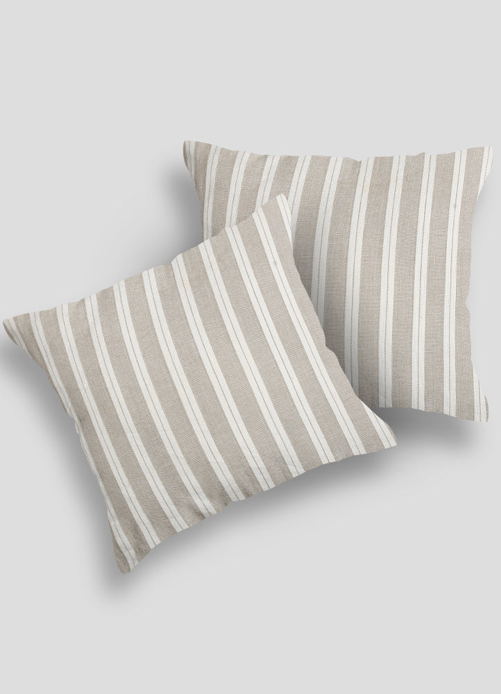 Linen Cushion Cover- Set of 2 Pcs