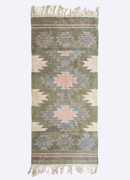Dinio Cotton Geometric Rug