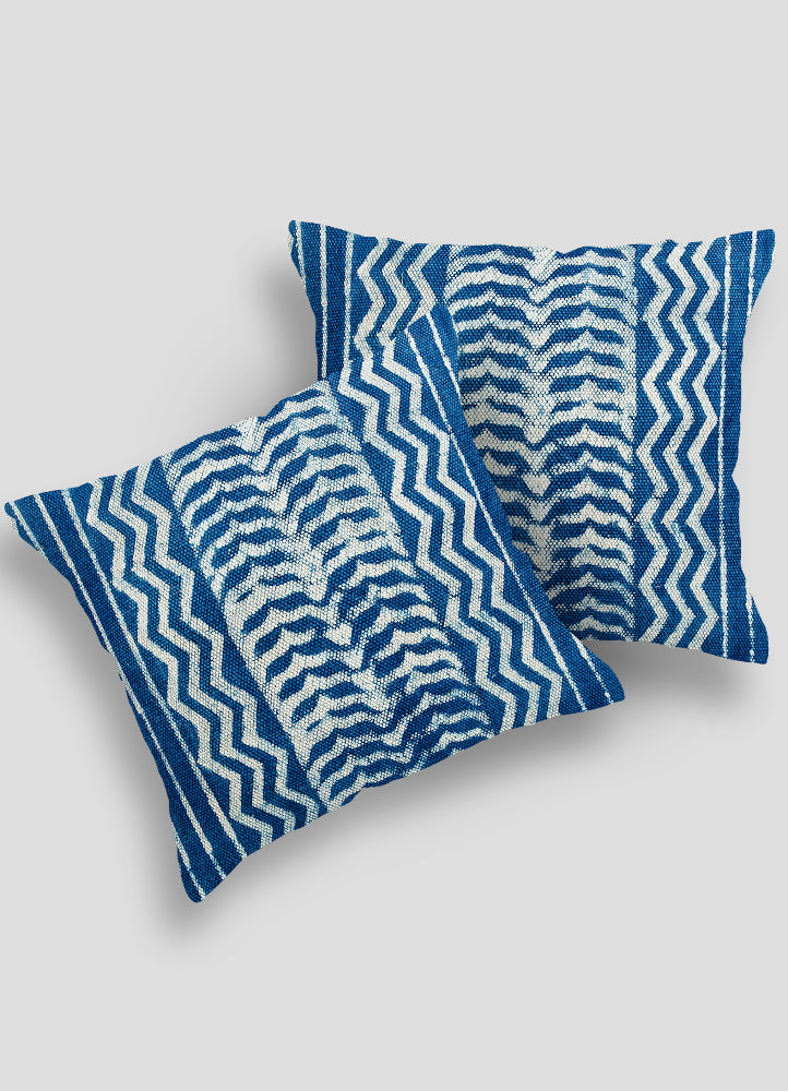Tarang Rug Cushion Cover Set of 2 Pcs