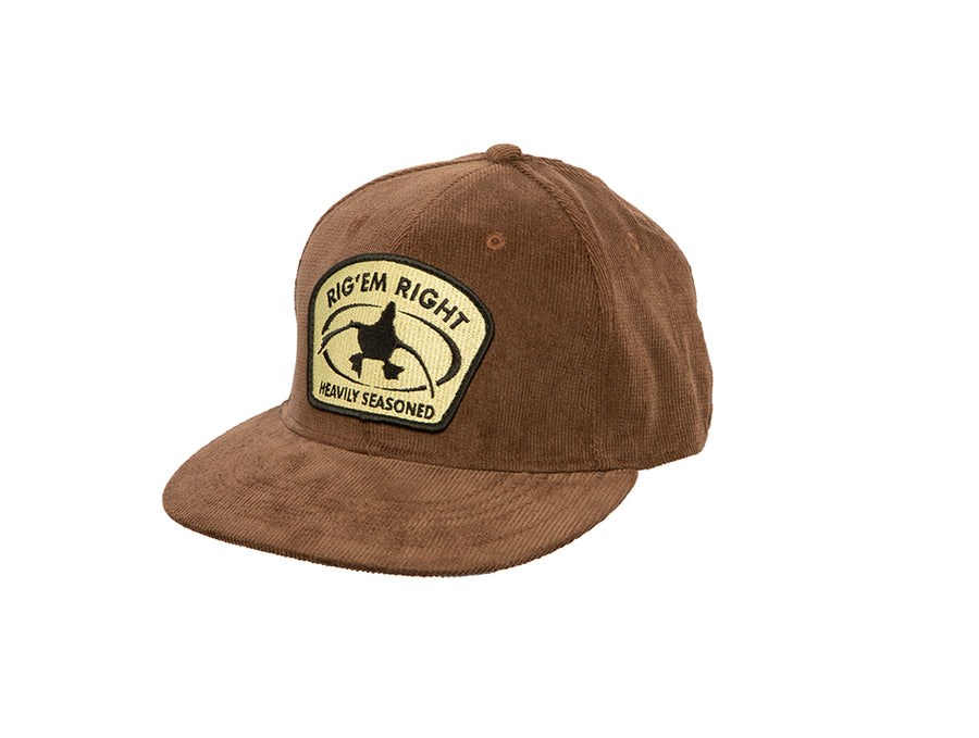 Brown Corduroy Hat