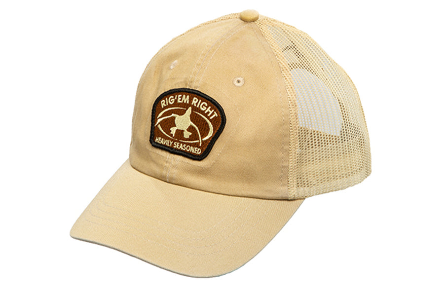 Heavy Duty Trucker Hat- Khaki