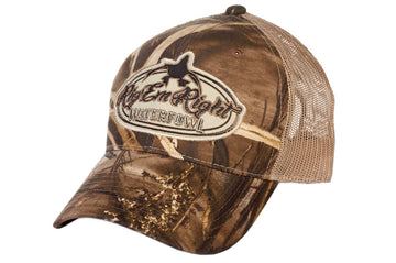 Camo Trucker Hat (Max 5 HD)