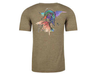 Dead Weight Fly - Wood Duck Tee