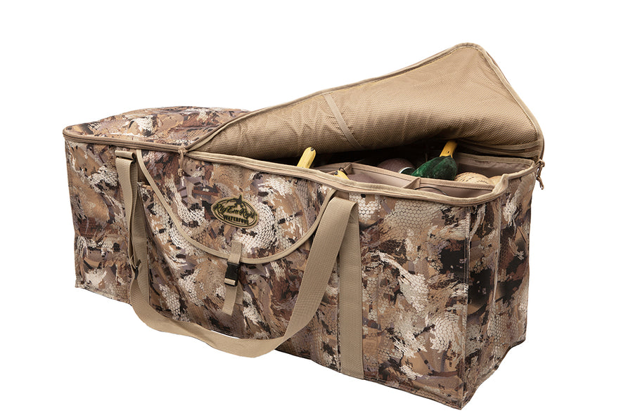 12-Slot Deluxe Duck Decoy Bag-GORE® OPTIFADE® Marsh
