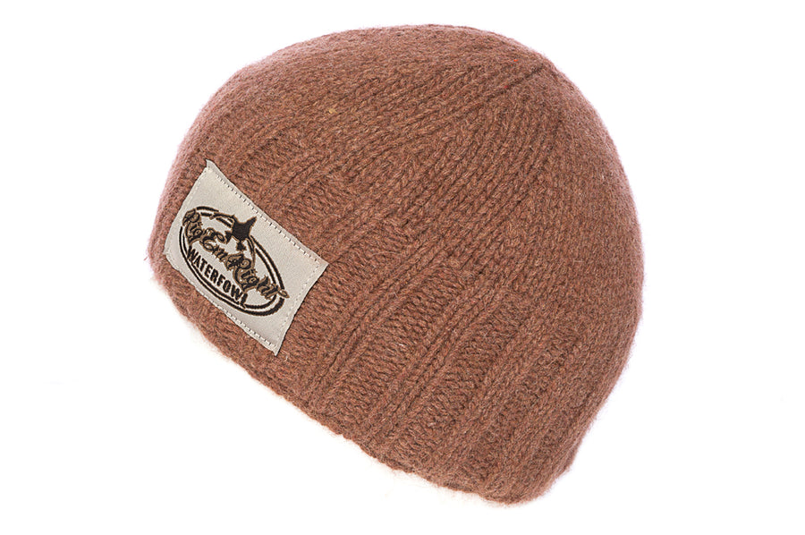 Knit Beanie - Dirty Brown