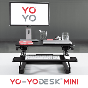 Yo-Yo DESK MINI Black Front View