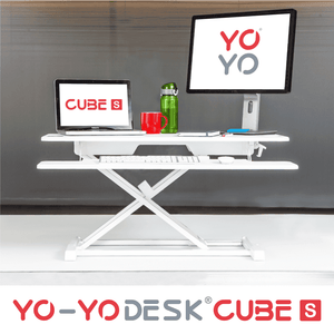 Yo-Yo DESK CUBE-S White Front View