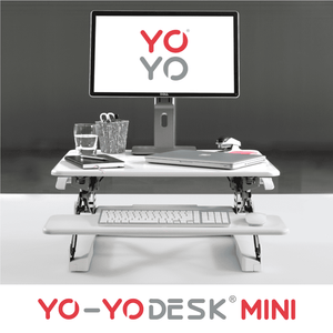 Yo-Yo DESK MINI White Front View