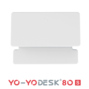 Yo-Yo DESK 80-S White Top View