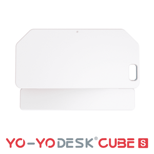 Yo-Yo DESK CUBE-S White Side View Folded