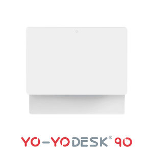 Yo-Yo DESK 90 White Top View