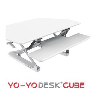 Yo-Yo DESK CUBE White Side View