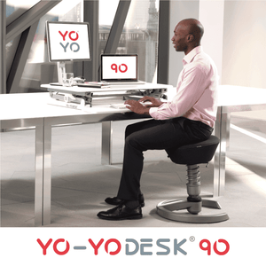 Yo-Yo Desk 90 White