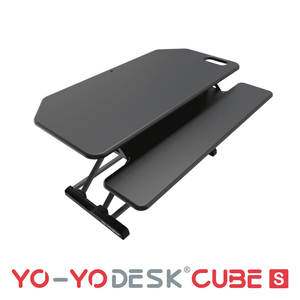Yo-Yo DESK CUBE-S Black Side View