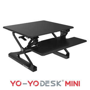 Yo-Yo DESK MINI Black Side View