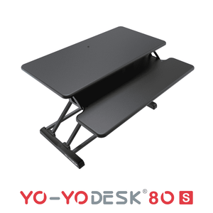 Yo-Yo DESK 80-S Black Side View