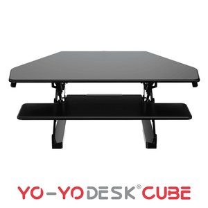 Yo-Yo DESK CUBE Black Front View
