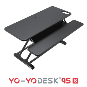 Yo-Yo DESK 95-S Black Side View