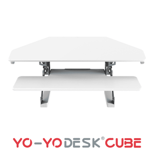 Yo-Yo DESK CUBE White Front View